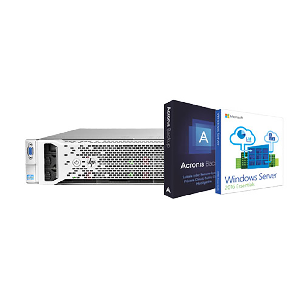 HP ProLiant DL380p Gen8 Server for Physical Backup